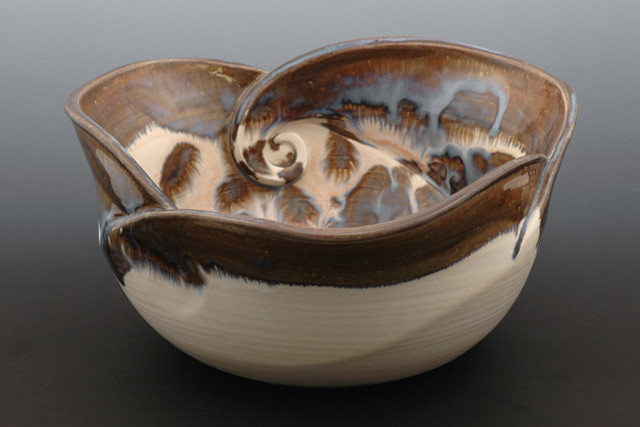 Handmade Bowl Bowls Class Iii Wave Bowl Mountain Made Wv
