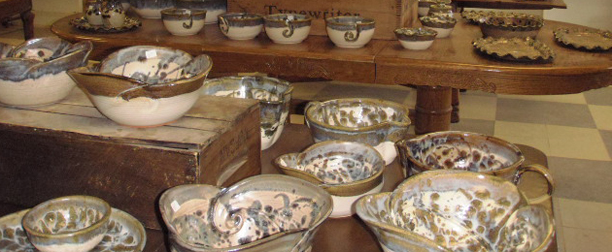 Beautiful handmade pottery from the mountains of West Virginia & Handmade Pottery HANDCRAFTED STONEWARE DINNERWARE HANDMADE by GAULEY ...